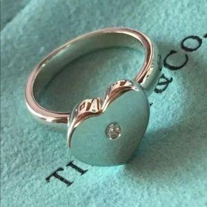 Tiffany&Co Paloma Picasso Diamond Heart Ring